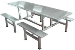 全不锈钢餐桌