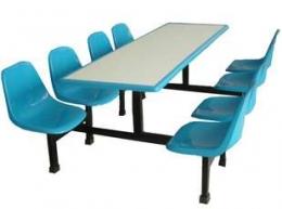 靠背八人餐桌